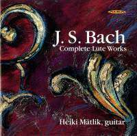 Johann Sebastian Bach (1685-1750): Lautenwerke (Ges.-Aufn.), 2 CDs