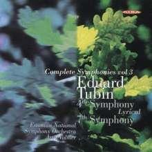 Eduard Tubin (1905-1982): Symphonien Nr.4 & 7, CD