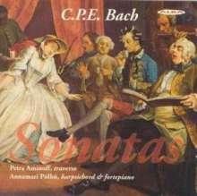 Carl Philipp Emanuel Bach (1714-1788): Flötensonaten Wq.83,Wq.84,Wq.86,Wq.161 Nr.2, CD