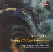 """Georg Philipp Telemann (1681-1767): """"Essercizii Musici"""" (Ausz.) Vol.1, 2 CDs"""