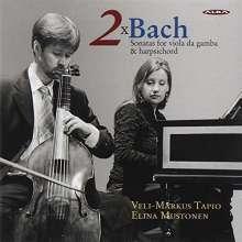 Johann Sebastian Bach (1685-1750): Gambensonaten BWV 1028 & 1029, CD
