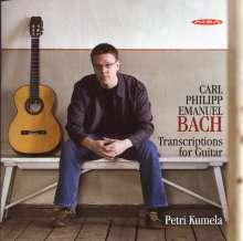 Carl Philipp Emanuel Bach (1714-1788): Cembalosonaten (arr.für Gitarre), CD