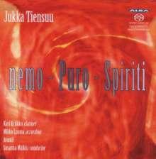 Jukka Tiensuu (geb. 1948): Puro für Klarinette & Orchester, SACD