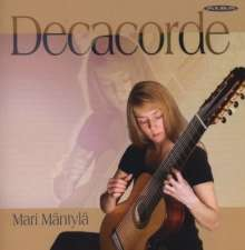 Mari Mäntylä, Decacorde (10-saitige Gitarre), CD