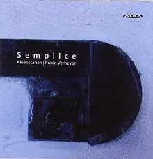 "Musik für Saxophon & Klavier ""Semplice"", CD"