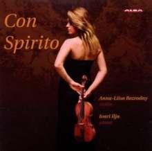 Anna-Liisa Bezrodny - Con Spirito, CD
