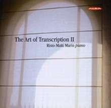 Risto-Matti Marin - The Art of Transcription Vol.2, CD