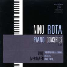 Nino Rota (1911-1979): Klavierkonzerte Nr.1 & 2, SACD