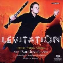 Peter Eötvös (geb. 1944): Levitation für Klarinette & Orchester, Super Audio CD