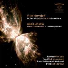 """Jukka Linkola (geb. 1955): Klavierkonzert Nr.1 """"The Masquerade"""", SACD"""