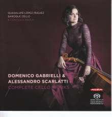 Domenico Gabrielli (1659-1690): Sämtliche Werke für Cello, SACD