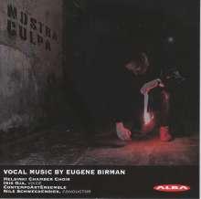 "Eugene Birman (geb. 1987): Chorwerke - ""Nostra Culpa"", CD"