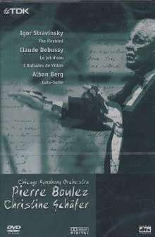 Musiktriennale Köln 2000 - Pierre Boulez, DVD