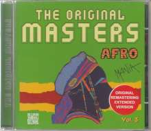 The Original Masters: Afro (Vol.3), CD