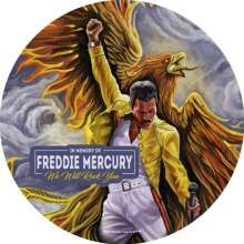 Queen: We Will Rock You - In Memory Of Freddie Mercury (180g) (Limited Edition) (Picture Disc), LP