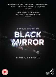 Black Mirror Season 1 & 2 (UK Import), 4 DVDs