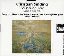 Christian Sinding (1856-1941): Der Heilige Berg (Oper in 3 Akten), CD