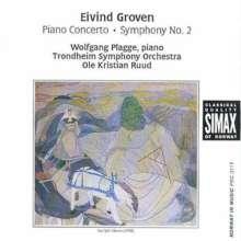 Eivind Groven (1901-1977): Symphonie Nr.2, CD