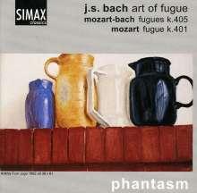 Johann Sebastian Bach (1685-1750): Die Kunst der Fuge BWV 1080 für 4 Violen, CD