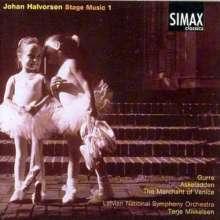 Johan Halvorsen (1864-1935): Bühnenmusik Vol.1, CD