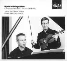 Hjalmar Borgström (1864-1925): Sämtliche Werke für Violine & Klavier, CD