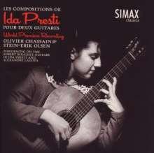 Ida Presti (1924-1967): Werke für 2 Gitarren, CD