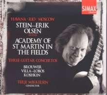 Stein-Erik Olsen - Three Guitar Concertos, CD
