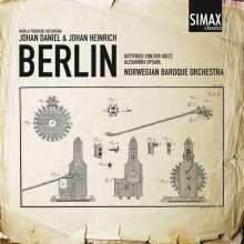 Johan Daniel Berlin (1714-1787): Sinfonias, CD
