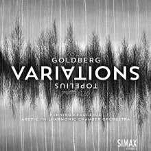 Johann Sebastian Bach (1685-1750): Goldberg-Variationen BWV 988 für Kammerorchester, CD