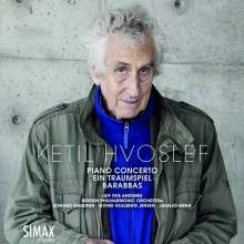 Ketil Hvoslef (geb. 1939): Klavierkonzert, CD