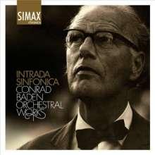 Conrad Baden (1908-1989): Intrada Sinfonica, CD