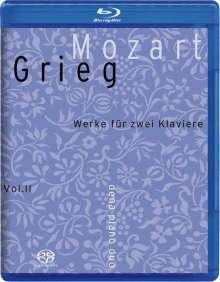 Edvard Grieg (1843-1907): Klaviermusik von W.A.Mozart Vol.2 (Blu-ray & SACD), 2 Blu-ray Audios