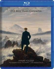 Ole Bull (1810-1880): Violinkonzert, 2 Blu-ray Audios