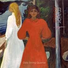 Oslo String Quartet  - Major Minor, 1 Blu-ray Audio und 1 Super Audio CD