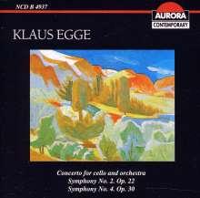 Klaus Egge (1906-1979): Symphonien Nr. 2 & 4, CD