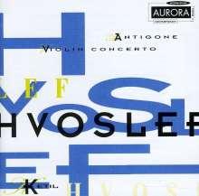 Ketil Hvoslef (geb. 1939): Violinkonzert, CD