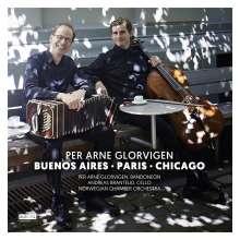 "Per Arne Glorvigen (geb. 1963): Konzert für Bandoneon, Cello & Streichorchester ""Dos Noruegos en Buenos Aires"", CD"