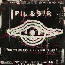 Pil & Bue: The World Is A Rabbit Hole (Limited Edition) (Splatter-Vinyl), LP