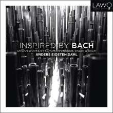 Anders Eidsten Dahl - Inspired By Bach, CD
