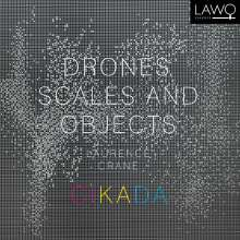 """Laurence Crane (geb. 1961): Kammermusik """"Drones, Scales and Objects"""", CD"""