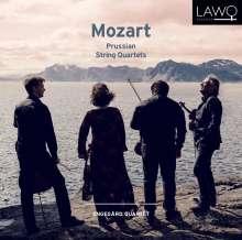 "Wolfgang Amadeus Mozart (1756-1791): Streichquartette Nr.21-23 ""Preussische"", CD"