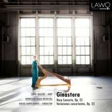 Alberto Ginastera (1916-1983): Harfenkonzert op.25, CD
