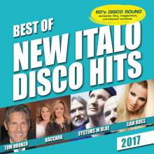 Best of New Italo Disco-2017, CD