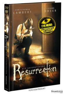 Resurrection (Blu-ray & DVD im Mediabook), 1 Blu-ray Disc und 1 DVD
