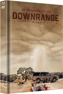 Downrange (Blu-ray & DVD im Mediabook), 1 Blu-ray Disc und 1 DVD