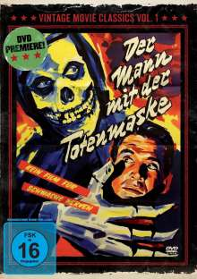 Der Mann mit der Totenmaske, DVD