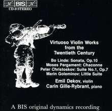 Emil Dekov,Violine, CD