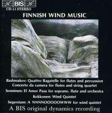 Finnische Bläsermusik, CD