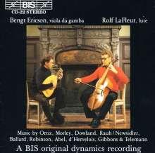 Bengt Ericson,Viola da gamba, CD