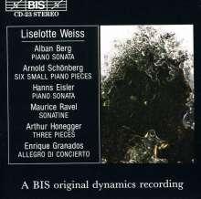 Liselotte Weiss,Klavier, CD